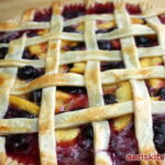 Peach & Blueberry Pie